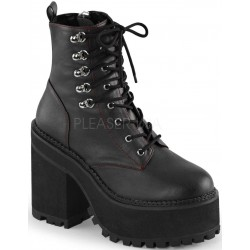 Assault Block Heel Womens Combat Boot ShoeOodles Shoes for Women, Men and Children  Oodles of Shoes for Men, Women & Children