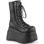 Bear Black Matte Womens Platform Boot at ShoeOodles Shoes for Women, Men and Children,  Oodles of Shoes for Men, Women & Children