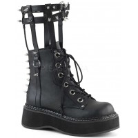 Emily Heart Cage Calf High Womens Boot