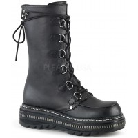 Lilith Metal Trimmed Mid-Calf Womens Black Boot
