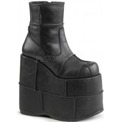 Stack Mens Platform Patched Ankle Boot ShoeOodles Shoes for Women, Men and Children  Oodles of Shoes for Men, Women & Children