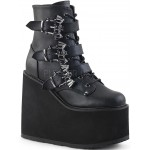 Bat Buckled Swing 103 Wedge Platform Ankle Boot at ShoeOodles Shoes for Women, Men and Children,  Oodles of Shoes for Men, Women & Children