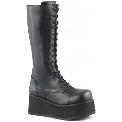 Trashville Lace Up Unisex Knee Boot ShoeOodles Shoes for Women, Men and Children  Oodles of Shoes for Men, Women & Children