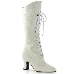 Rebecca Victorian White Lace Boot ShoeOodles Shoes for Women, Men and Children  Oodles of Shoes for Men, Women & Children