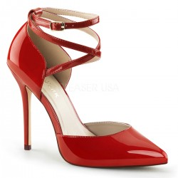 Dorsey Criss Cross Ankle Strap Red Amuse Pump ShoeOodles Shoes for Women, Men and Children  Oodles of Shoes for Men, Women & Children