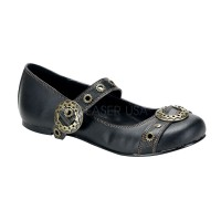 Steampunk Flat Mary Jane Shoe