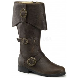 Carribean Distressed Brown Pirate Boots ShoeOodles Shoes for Women, Men and Children  Oodles of Shoes for Men, Women & Children