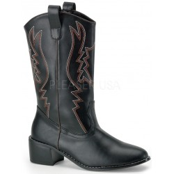Cowboy Mens Black Western Boot ShoeOodles Shoes for Women, Men and Children  Oodles of Shoes for Men, Women & Children