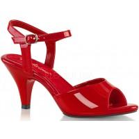 Red Belle 3 Inch Heel Sandal