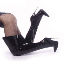 Thigh High Scream Fetish Boots with 6 Inch Heel ShoeOodles Shoes for Women, Men and Children  Oodles of Shoes for Men, Women & Children
