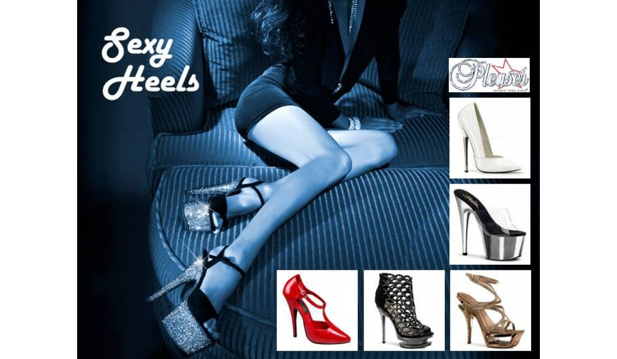Sexy High Heels by Pleaser