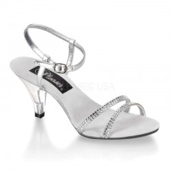 Belle Rhinestone Silver Sandal ShoeOodles Shoes for Women, Men and Children  Oodles of Shoes for Men, Women & Children
