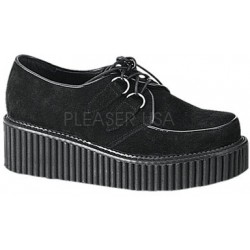 Black Suede Womens Creeper ShoeOodles Shoes for Women, Men and Children  Oodles of Shoes for Men, Women & Children