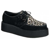 Leopard Print Mens Creeper Loafer