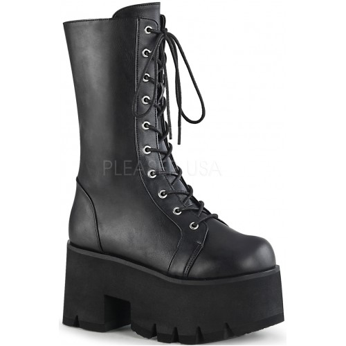 Ashes Womens Mid-Calf Platform Combat Boot at ShoeOodles Shoes for Women, Men and Children,  Oodles of Shoes for Men, Women & Children