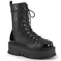 Slacker Black Womens Mid-Calf Boots