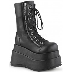 Bear Black Matte Womens Platform Boot