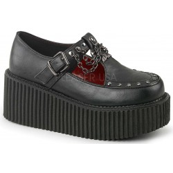 Platform T-Strap Bat Charm Creeper for Women ShoeOodles Shoes for Women, Men and Children  Oodles of Shoes for Men, Women & Children