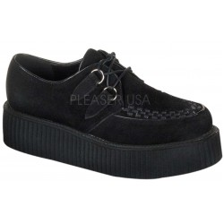Black Suede Mens Creeper Loafer ShoeOodles Shoes for Women, Men and Children  Oodles of Shoes for Men, Women & Children