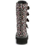 Emily Floral Print Mid-Calf Boot at ShoeOodles Shoes for Women, Men and Children,  Oodles of Shoes for Men, Women & Children