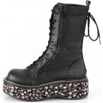Emily Floral Platform Mid-Calf Boot