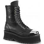 Gravedigger Mens Platform Ankle Boots at ShoeOodles Shoes for Women, Men and Children,  Oodles of Shoes for Men, Women & Children