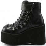 Kera Black Platform Ankle Boots at ShoeOodles Shoes for Women, Men and Children,  Oodles of Shoes for Men, Women & Children