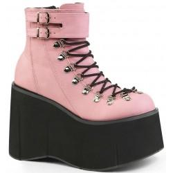 Kera Pink Platform Ankle Boots ShoeOodles Shoes for Women, Men and Children  Oodles of Shoes for Men, Women & Children