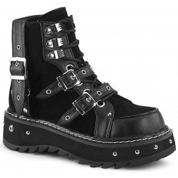 Lilith Black Platform Ankle Boots ShoeOodles Shoes for Women, Men and Children  Oodles of Shoes for Men, Women & Children