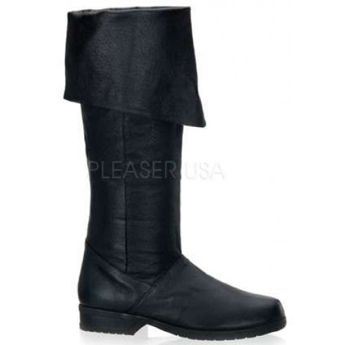 Maverick Unisex Flat Knee High Pirate Boot at ShoeOodles,  Oodles of Shoes for Men, Women & Children