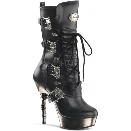 Spine Heeled Muerto Calf High Boot at ShoeOodles Shoes for Women, Men and Children,  Oodles of Shoes for Men, Women & Children