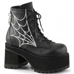 Webbed Ranger Womens Gothic Platform Boot ShoeOodles Shoes for Women, Men and Children  Oodles of Shoes for Men, Women & Children