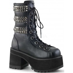 Ranger Studded Womens Platform Combat Boot ShoeOodles Shoes for Women, Men and Children  Oodles of Shoes for Men, Women & Children