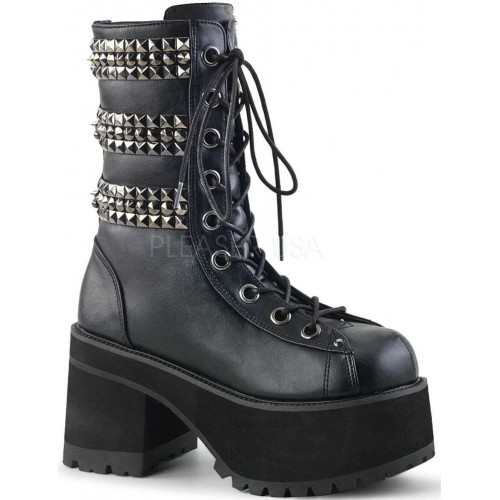 Ranger Studded Womens Platform Combat Boot at ShoeOodles Shoes for Women, Men and Children,  Oodles of Shoes for Men, Women & Children