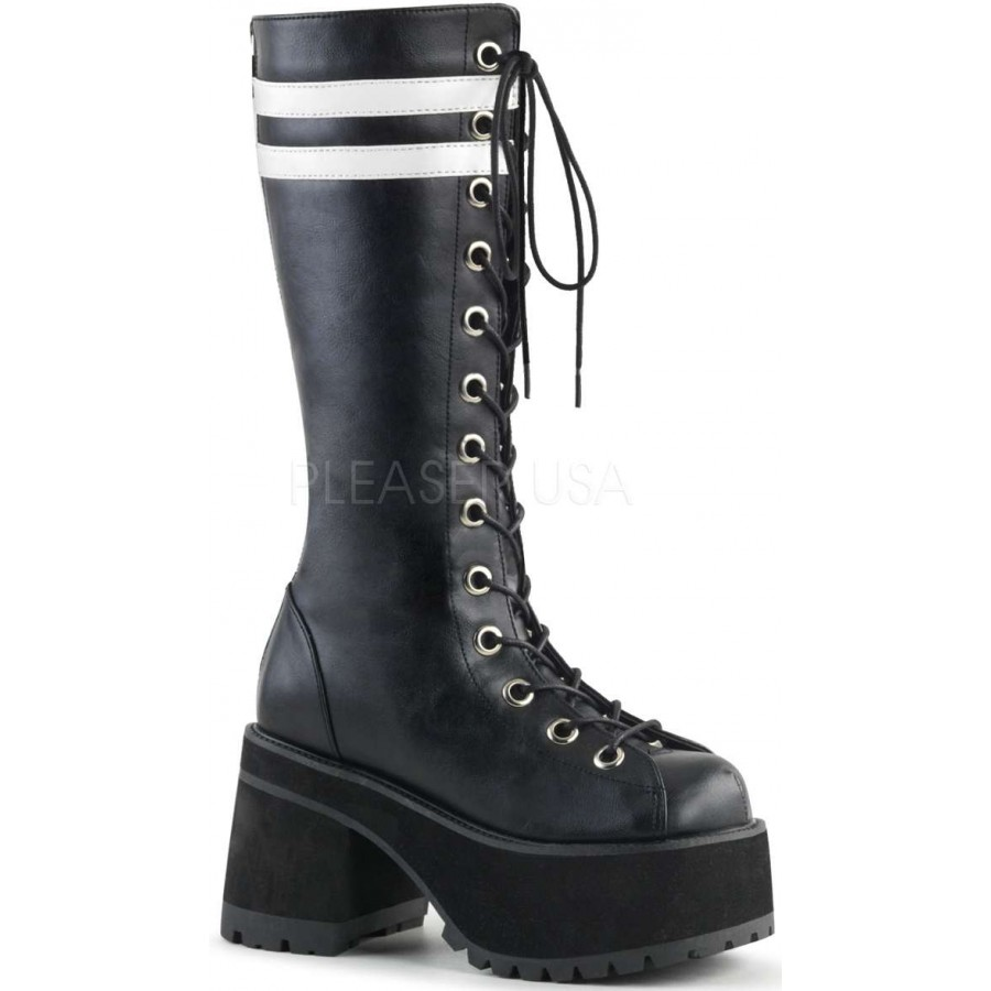 new design outlet store sale real deal Ranger Mens Combat Boot with White Stripes