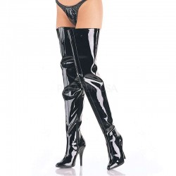 Seduce Black Patent Crotch Boots ShoeOodles Shoes for Women, Men and Children  Oodles of Shoes for Men, Women & Children