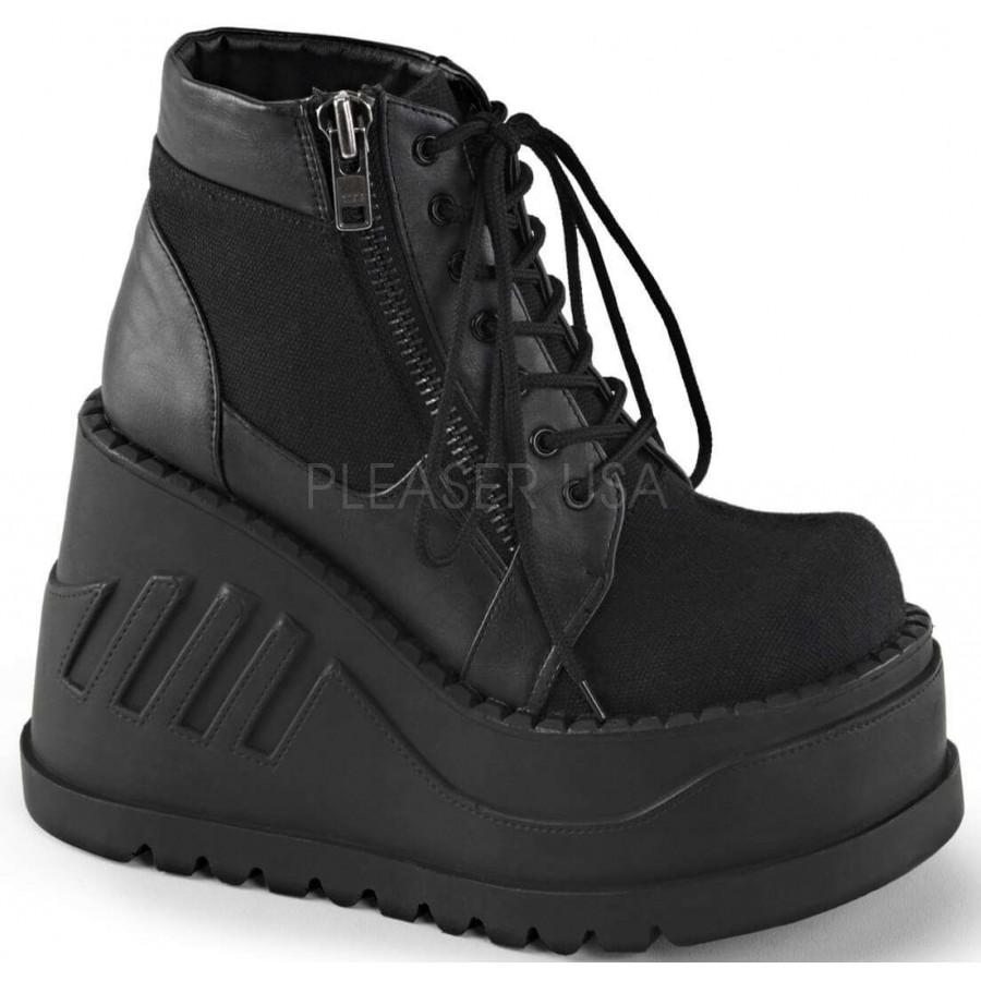 Stomp Zippered Womens Platform Sneaker