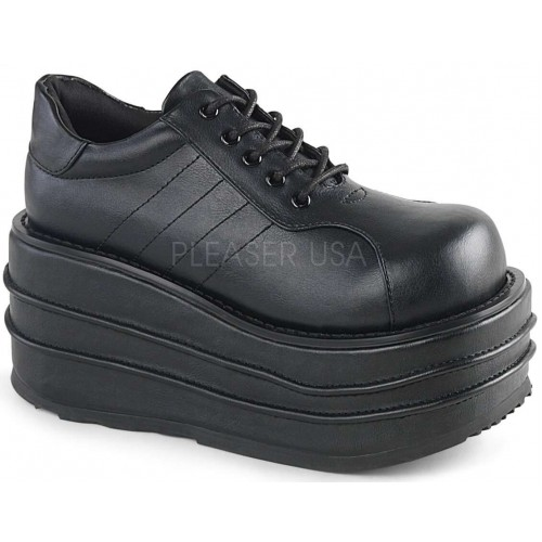 Tempo Unisex Faux Leather Platform Sneaker at ShoeOodles Shoes for Women, Men and Children,  Oodles of Shoes for Men, Women & Children
