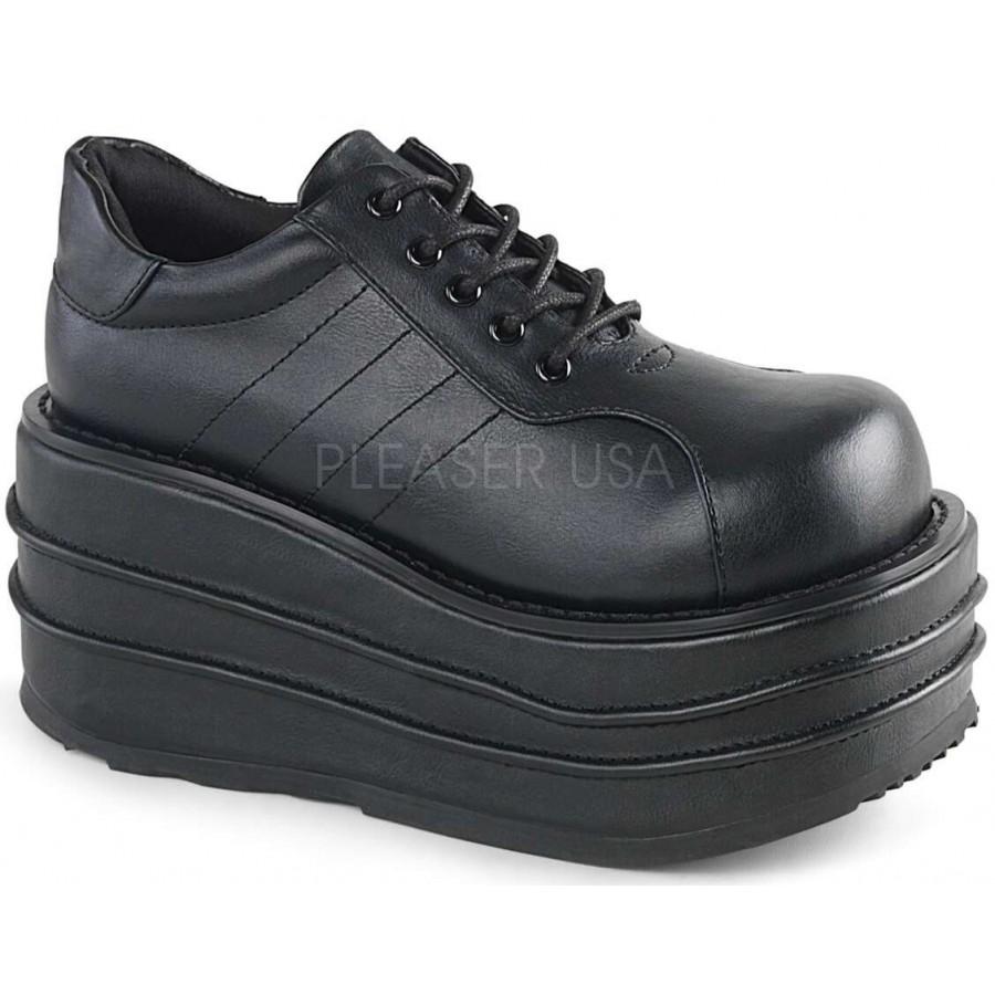 6235ec6ff36 Tempo Unisex Faux Leather Platform Sneaker