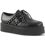Black Stars and Stripes Vegan Leather Mens Creeper Loafer at ShoeOodles,  Oodles of Shoes for Men, Women & Children