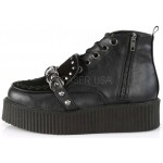 High Top Creeper-555 Platform Oxford by Demonia at ShoeOodles,  Oodles of Shoes for Men, Women & Children