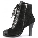 Glam Victorian Gothic Ankle Boot at ShoeOodles Shoes for Women, Men and Children,  Oodles of Shoes for Men, Women & Children