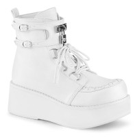 Sprite White Womens Ankle Boot