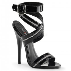 Zippered Domina High Heel Sandal ShoeOodles Shoes for Women, Men and Children  Oodles of Shoes for Men, Women & Children