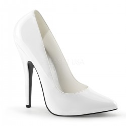 Classic White 6 Inch High Heel Pump ShoeOodles Shoes for Women, Men and Children  Oodles of Shoes for Men, Women & Children