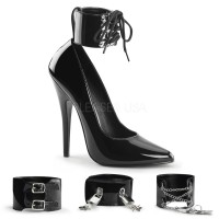Ankle Cuff Domina 6 Inch High Heel Pump