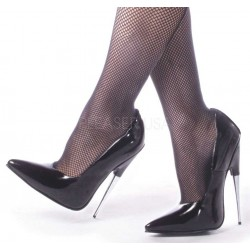 Scream Spiked Extreme Heel Black Fetish Pump ShoeOodles Shoes for Women, Men and Children  Oodles of Shoes for Men, Women & Children