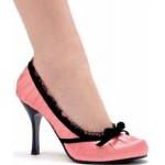 Satin Doll Pink High Heel Pump at ShoeOodles Shoes for Women, Men and Children,  Oodles of Shoes for Men, Women & Children