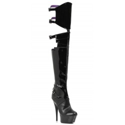 Felicia 6 Inch Heel Thigh High Platform Boot