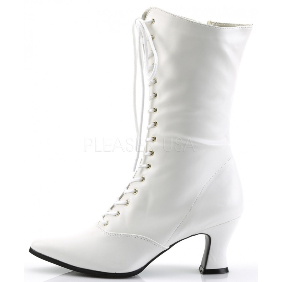 Simple White Lace Boots For Women Of 2018 U0026 2019